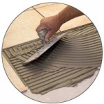 tile-adhesive-mixing